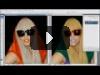 Уроки Photoshop CS3 - Как изменить цвет Волос, Губ, Одежды